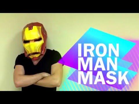 How to make Iron Man Mask from paper | Helmet | DIY | Handmade