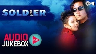 Audio Jukebox | Soldier Movie | Bobby Deol | Preity Zinta | Anu Malik | Sameer | 90s Bollywood Hits