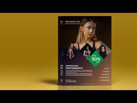 Creative Photography Flyer Design - Photoshop Tutorial