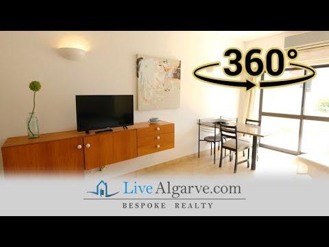 360º Video Tour - Cosy Studio Apartment near Porto de Mós, Lagos