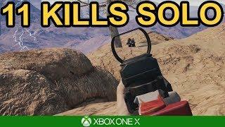11 KILL SOLO WIN / PUBG Xbox One X