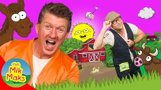 Old MacDonald Had a Farm Part 3 | Songs for Kids | The Mik Maks