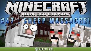 "Minecraft Xbox | ""SHEEP MASSACRE"" | Survival #47"