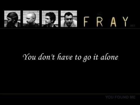 The Fray- Run for your Life (Correct lyrics)