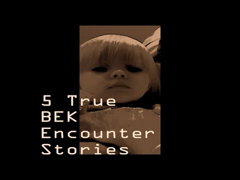 5 Scary True BEK (Black-Eyed Kids) Encounter Stories