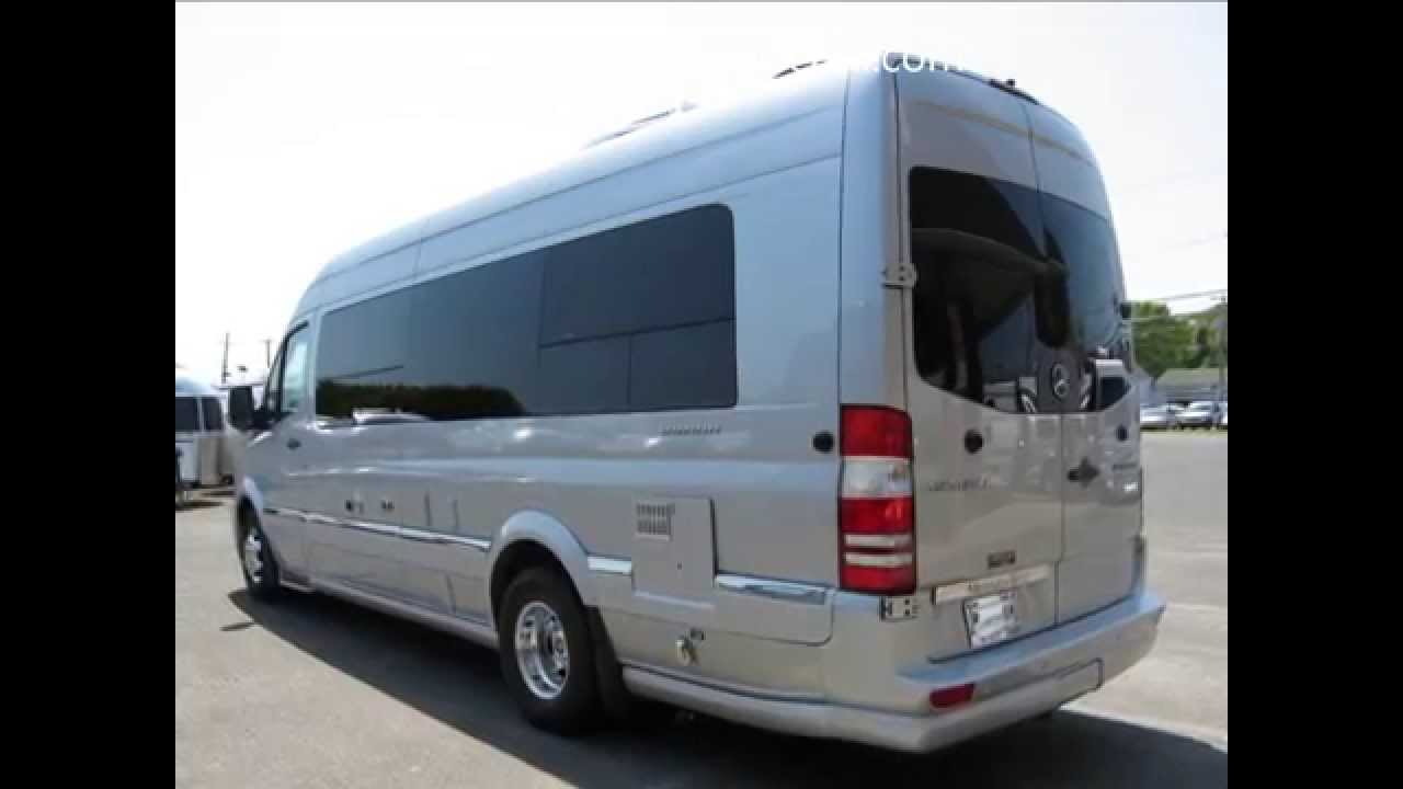 Mercedes benz airstream motorhome luxury van autos post for Mercedes benz luxury rv