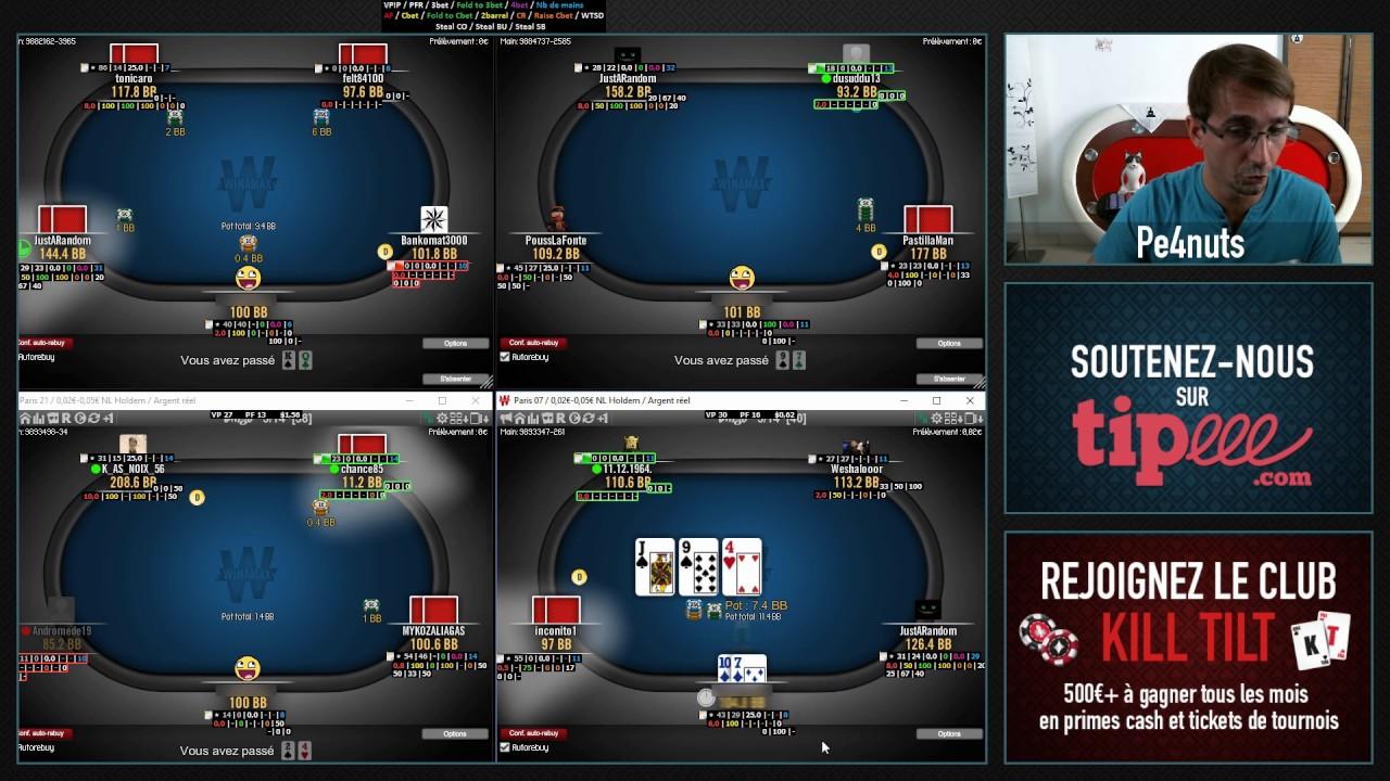 Poker comment jouer en cash game slot payout percentages atlantic city