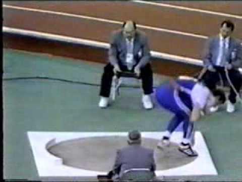 ulf timmerman shot put world indoor record 22.24m
