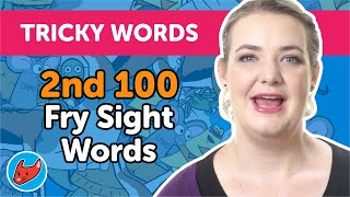 100 Tricky Words #9 | Fry Words | 2nd 100 Fry Sight Words
