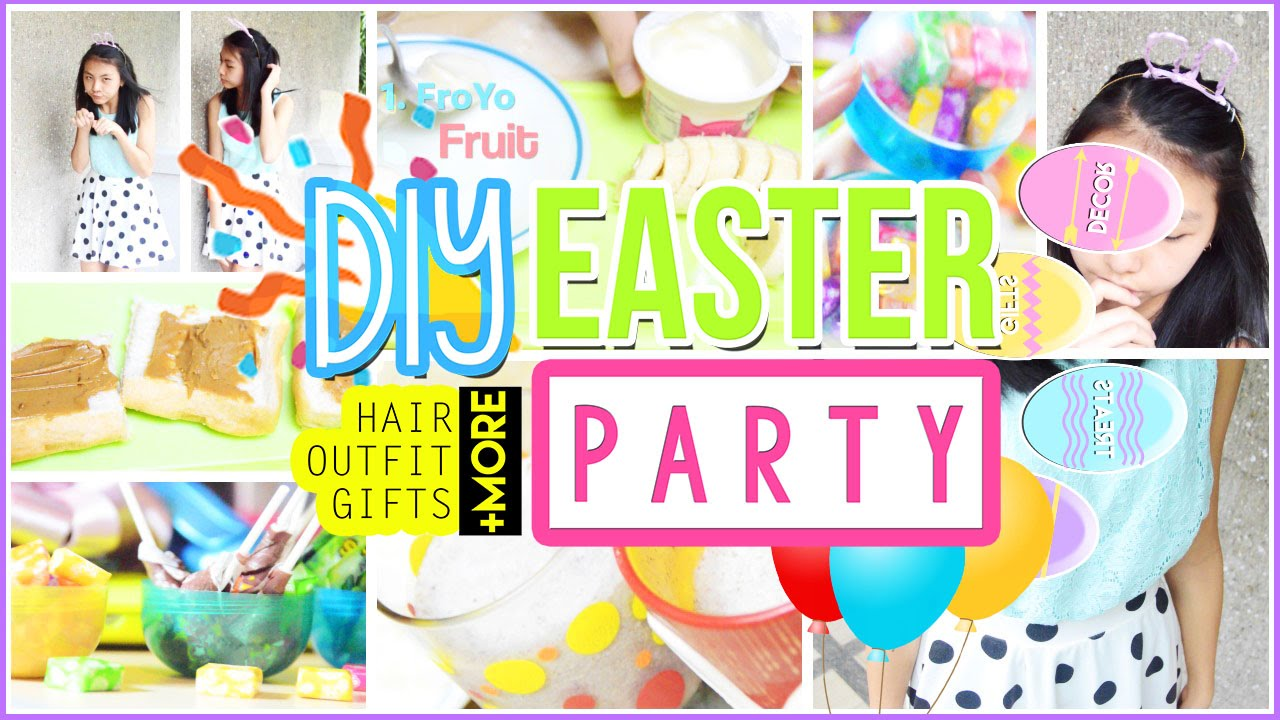 diy easter party hair outfit treats gifts decor more diy easter party hair outfit treats gifts decor more alohakatiex youtube negle Image collections