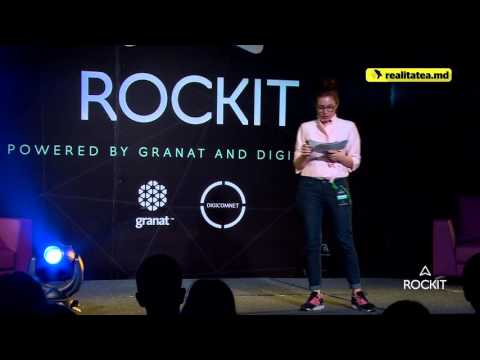 Carmen Punga, Rockit 2016: Think Export - new ideas, businesses and opportunities...