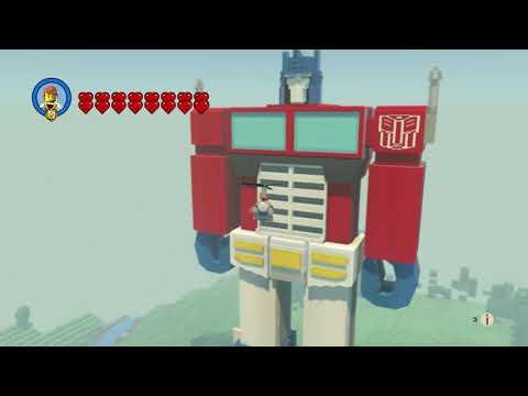 Optimus Prime - Transformers - Lego Worlds |