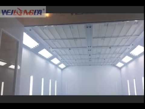 Quality WeiLongDa Brand Car Spray Paint Booth Video