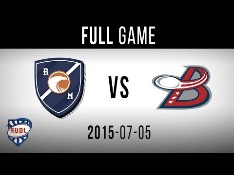 Washington DC Breeze VS Royal   GAME   AUDL   TVA SPORTS   Ultimate frisbee   Montreal Royal