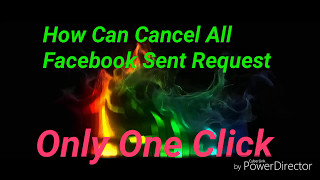 Cancel All Facebook Sent Request In One Click By Lomash Tech & Tricks HD