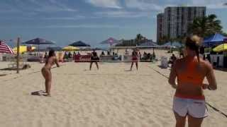 2014 IFBT Beach Tennis, Women