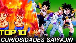 TOP 10: Curiosidades Que No Sabias de los Saiyajin
