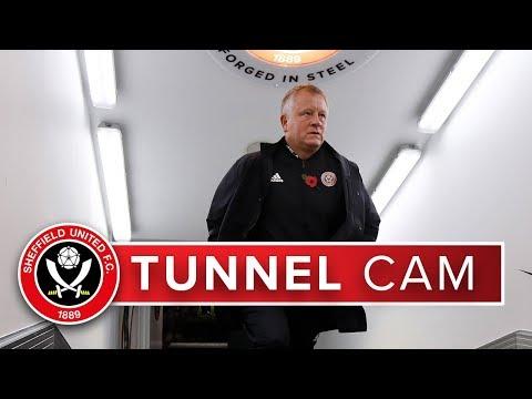 TUNNEL CAM   Sheffield United v Sheffield Wednesday