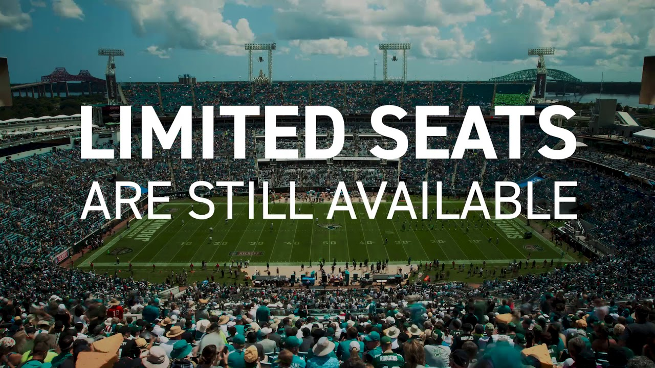 Jaguars 2018 Season Tickets