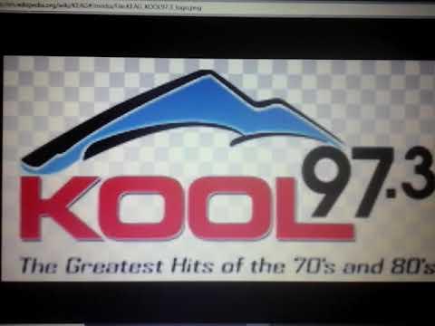 "K-E-A-G-FM 97.3 ""Kool 97.3 FM"" Anchorage, Alaska July 1, 2018 Radio Station Identification."
