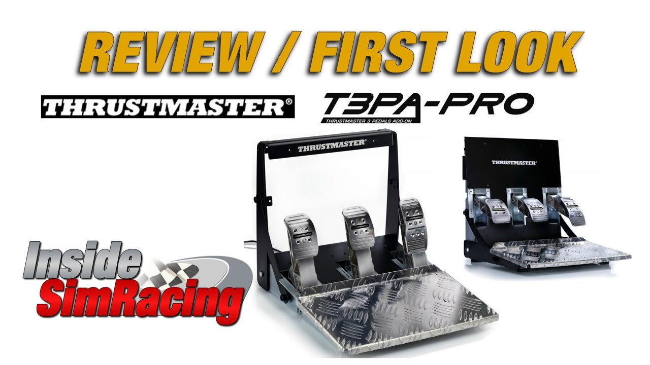 Thrustmaster T3pa Pro Pedal Set Review Youtube