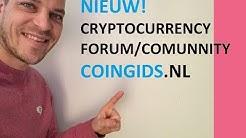 CRYPTOCURRENCY FORUM NEDERLAND (NIEUW!)