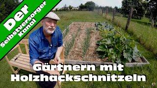 Back to eden gärtnern mit Holzhackschnitzeln Teil 2