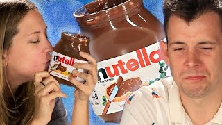 Repeat youtube video Americans Try Nutella For The First Time