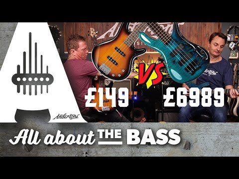 £6989 Bass Vs. £149 Bass... Is there really £6840 difference??