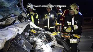 Hajnali baleset az M0-ás autóúton