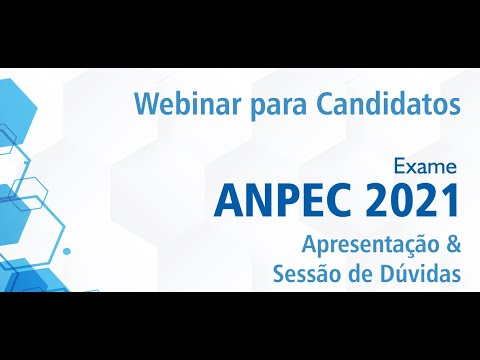 Exame Anpec 2021