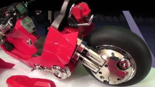 Р3 іграшка коментар: проект БМ! Велосипед 1/6 масштаб Акіра Канеда