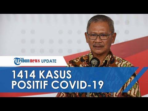 Pasien yang Dinyatakan Positif Corona di Indonesia Bertambah 129, Kini Jumlahnya Ada 1414 - 동영상