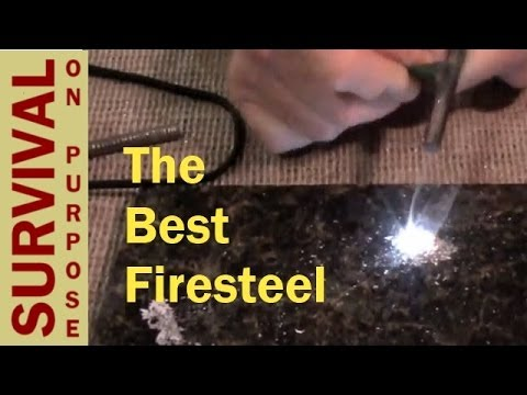 Which Is the Best Fire Steel? - Fire Steel Tips, Tricks and