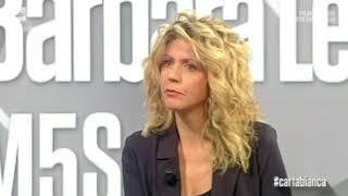 Barbara lezzi ospite a cartabianca 26/04/2018