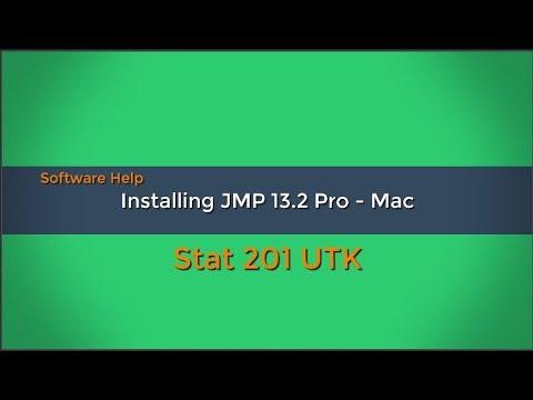 Installing JMP 14 or 13 2 - Mac
