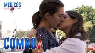 Médicos, línea de vida - C-54: Cynthia y Rafa se besan | Las Estrellas