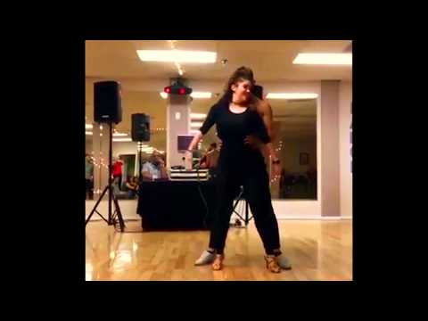 Frankie & Edna's demo of a salsa performance they will debut in NY in May