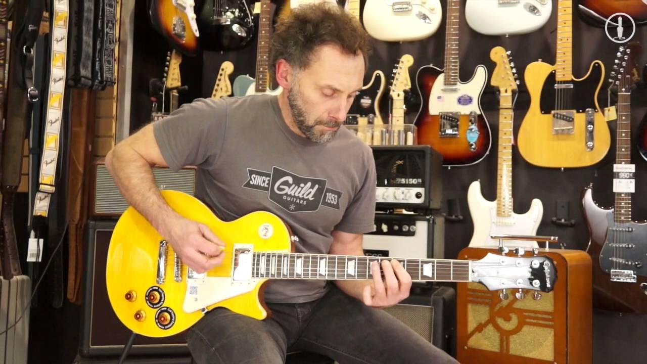 EPIPHONE Les Paul Standard Plus Top Pro Ltd - guitare ...