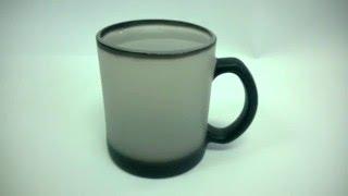видео чашка с логотипом