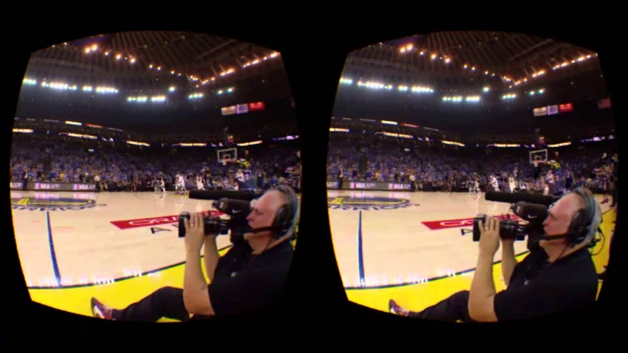 The NextVR NBA Tip Off Live Stream in the Gear VR - YouTube