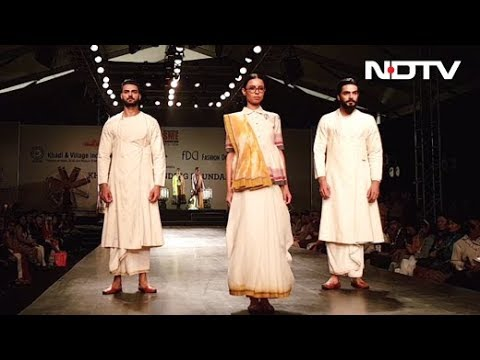 Khadi Fabric Is Being Reinvented By Indian Fashion Designers Youtube