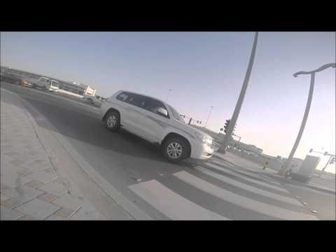 Doha, Qatar. My bike ride home. Around 3:30pm.