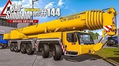 Bau-Simulator 2015 Multiplayer #144 - WINDRAD bauen! CONSTRUCTION SIMULATOR Deluxe