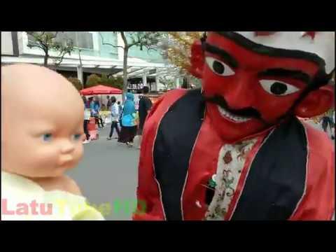 Ondel ondel betawi part 5 - Bayi boneka baby doll dan ondel ondel