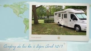 Sortie en camping car  Camping du lac kir à Dijon Avril 2017
