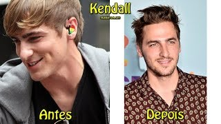 Antes e Depois do Elenco Completo de Big Time Rush - 2017