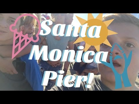Adventures at the Santa Monica Pier!! | Gs and the GiRls