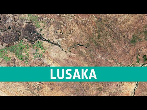 Earth from Space: Lusaka, Zambia