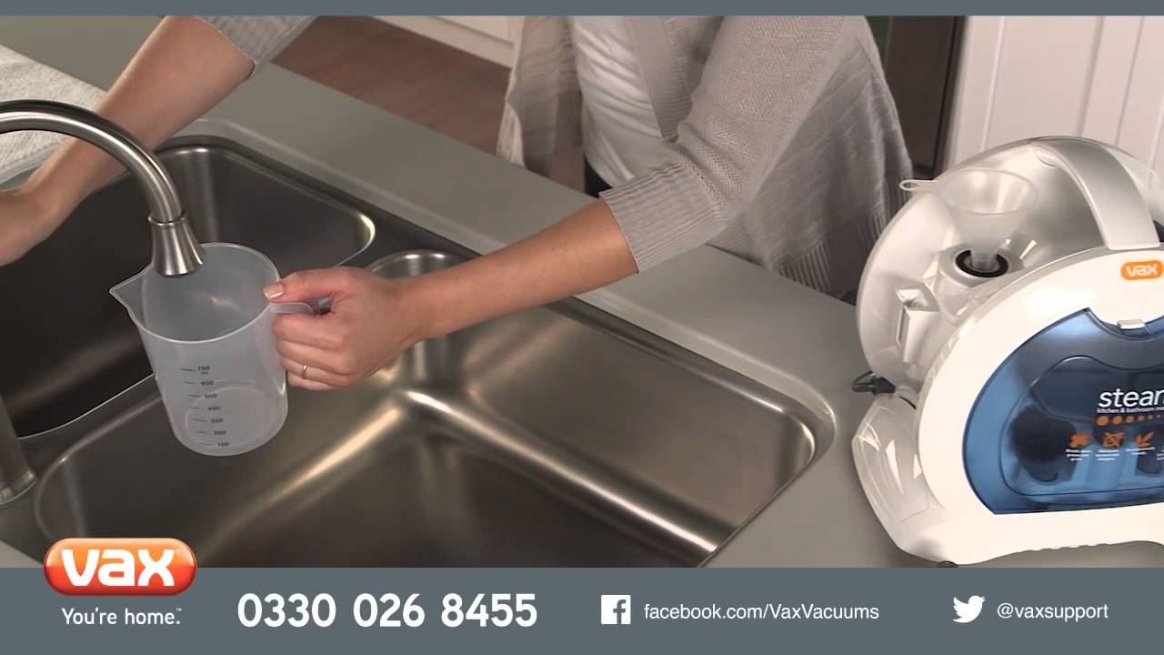 Introducing Vax Kitchen Bathroom Master Steam Cleaner Youtube